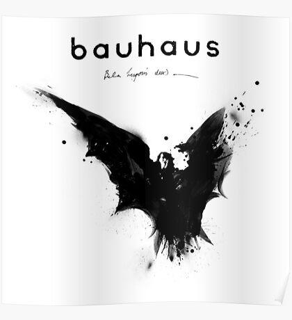 Bela Lugosi's Dead - Bauhaus Poster