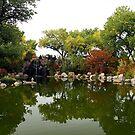 Japanese Garden by Loree McComb