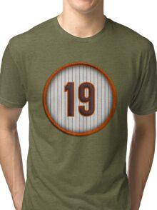 19 - Mr. Padre (Late 80's version) Tri-blend T-Shirt