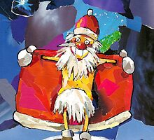 SANTA CLAUS IS COMING TO TOWN! by T o m e k