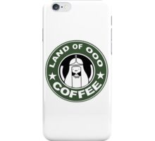 COFFEE: LAND OF OOO iPhone Case/Skin