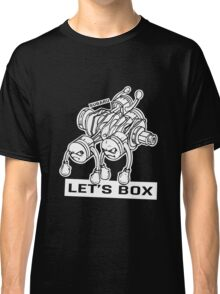 let's lets box funny geeks geek logo Classic T-Shirt