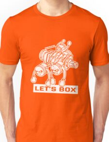 let's lets box funny geeks geek logo Unisex T-Shirt