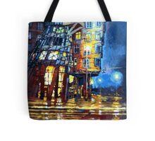 Prague Dancing House  Tote Bag