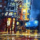 Prague Dancing House  by Yuriy Shevchuk
