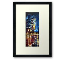 Prague Dancing House  Framed Print