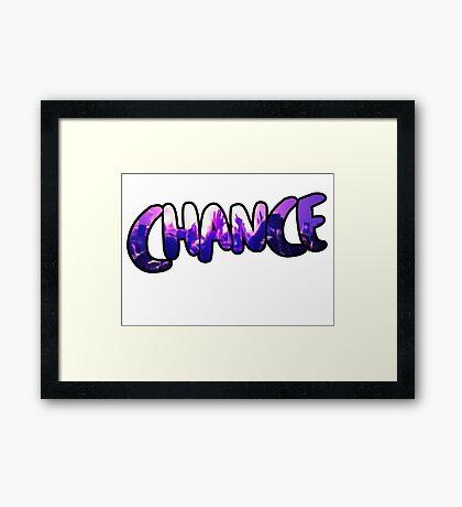 Chance the Rapper Framed Print