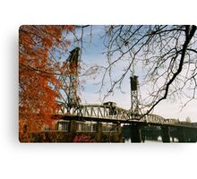 Hawthorne Bridge 1 - Portland, Oregon  Canvas Print