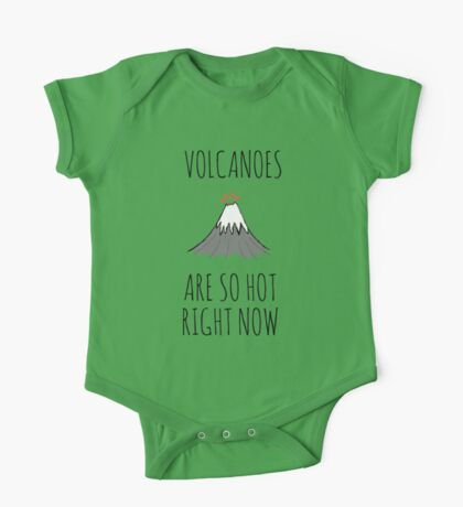 Volcanoes are so hot right now One Piece - Short Sleeve
