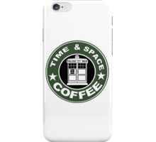 COFFEE: TIME AND SPACE iPhone Case/Skin