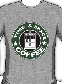 COFFEE: TIME AND SPACE T-Shirt