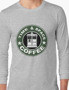 COFFEE: TIME AND SPACE Long Sleeve T-Shirt