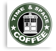 COFFEE: TIME AND SPACE Metal Print