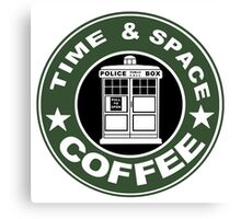 COFFEE: TIME AND SPACE Canvas Print