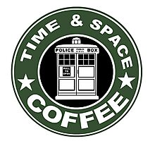 COFFEE: TIME AND SPACE Photographic Print