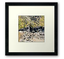 Blending Reality Framed Print