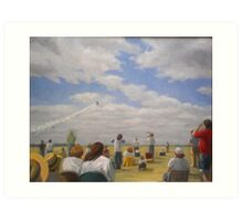 Air Show Art Print