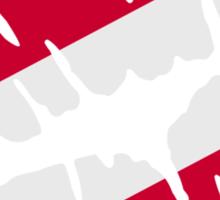 Austria flag kiss Sticker