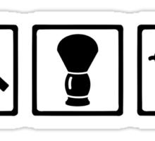 Barber set Sticker