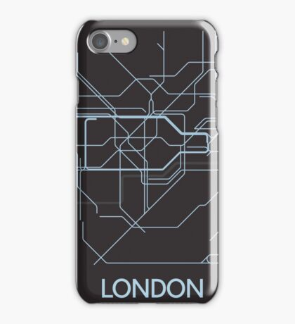 Minimal Tube Map iPhone Case/Skin