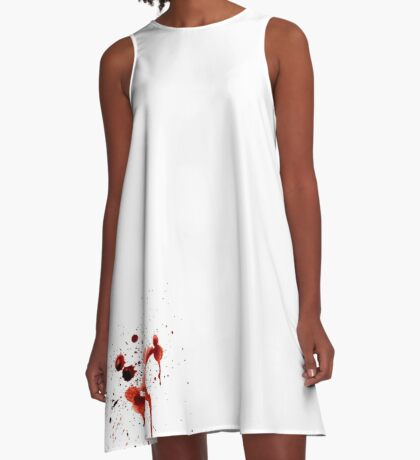 Blood Spatter A-Line Dress