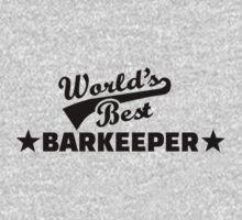 World's best barkeeper bartender  Kids Clothes