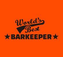 World's best barkeeper bartender  Kids Tee