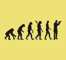 Evolution barkeeper bartender Kids Tee