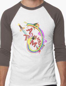 Adventure Time Mash Men's Baseball ¾ T-Shirt