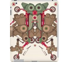 Vector Abstract robot character iPad Case/Skin