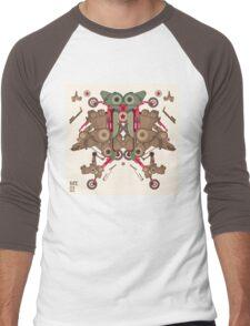 Vector Abstract robot character Men's Baseball ¾ T-Shirt