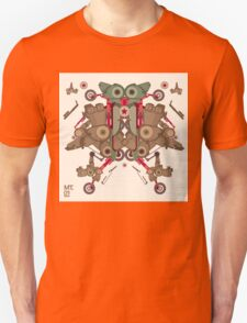 Vector Abstract robot character T-Shirt