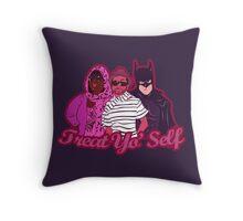 Treat Yo'Self  Throw Pillow
