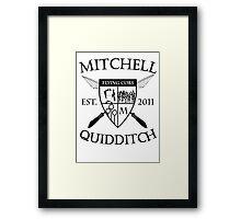 Mitchell Quidditch Team Framed Print