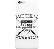 Mitchell Quidditch Team iPhone Case/Skin