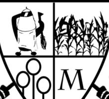 Mitchell Quidditch Team Sticker