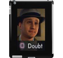 L.A. Noire DOUBT iPad Case/Skin