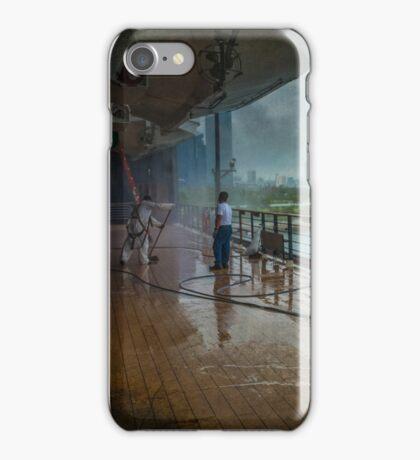 Swab the Decks me Hearties iPhone Case/Skin