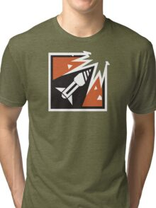 Ash Operator Logo Tri-blend T-Shirt