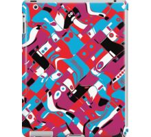 random blocks wave pattern iPad Case/Skin
