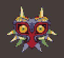 Majora's 8-bit Mask by christopholemon