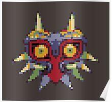 Majora's 8-bit Mask Poster