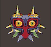Majora's 8-bit Mask Photographic Print