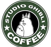 COFFEE: STUDIO GHIBLI by iumba