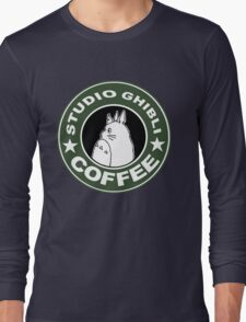 COFFEE: STUDIO GHIBLI Long Sleeve T-Shirt
