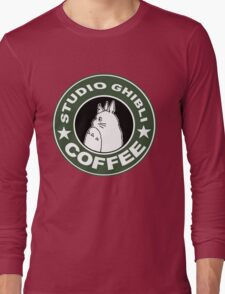 COFFEE: STUDIO GHIBLI Long Sleeve T-Shirt