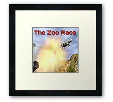 The Zoo Race Cannon Framed Print