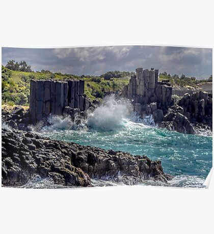 Cathedral Rocks Bombo Poster