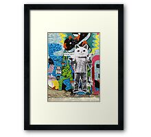 Ai Wei Wei in Berlin Framed Print