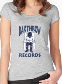Dak Throw Records Women's Fitted Scoop T-Shirt